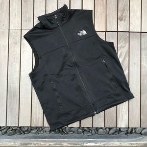 NORTH FACE Men's Black Apex Canyonwall Vest